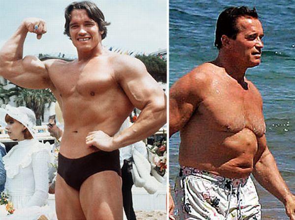 Aging Male Celebrities (12 pics)