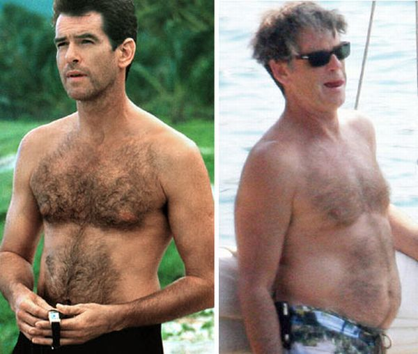 Aging Male Celebrities (12 pics)