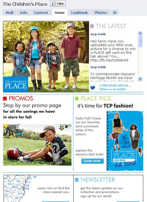 Creative Facebook Fan Page Design (34 pics)