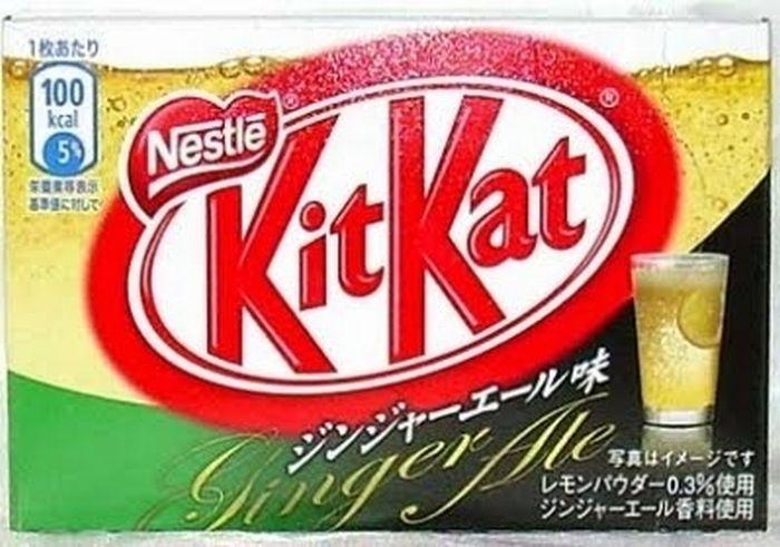 Kit Kat Varieties From Around The World (35 pics)
