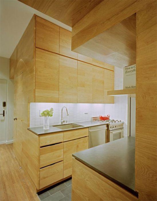 Space Maximization in a Small Studio Apartment (13 pics)