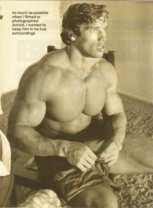 Young Arnold Schwarzenegger (100 pics)