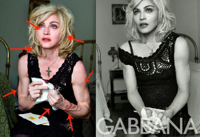 Madonna's Dolce & Gabbana Ads (13 pics)