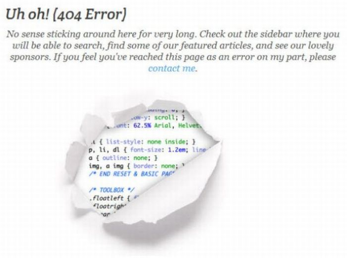 The Best of 404 Error Pages. Part 3 (33 pics)