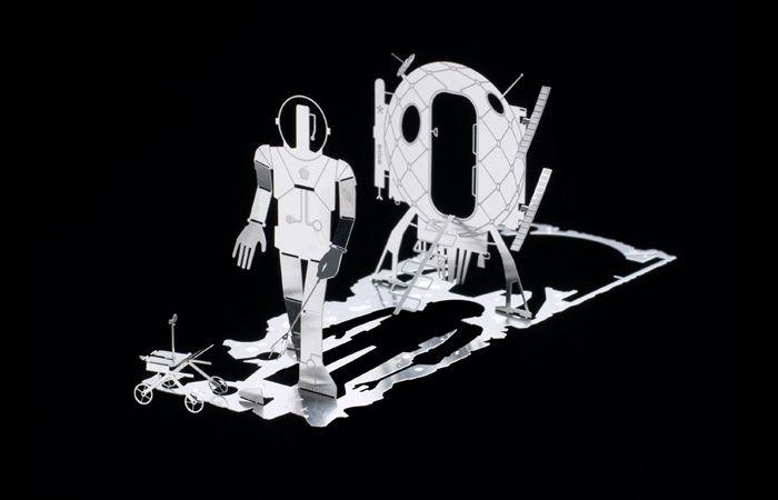 Business Cards That Transform Into 3D Metal Sculptures (10 pics)