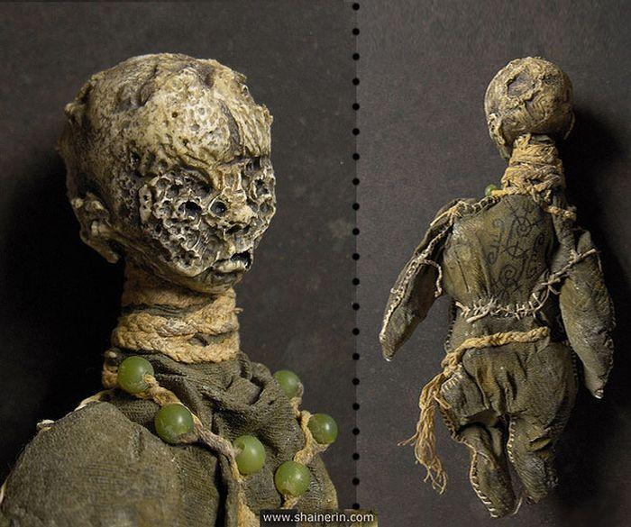 Creepy Dolls by Shain Erin (20 pics)