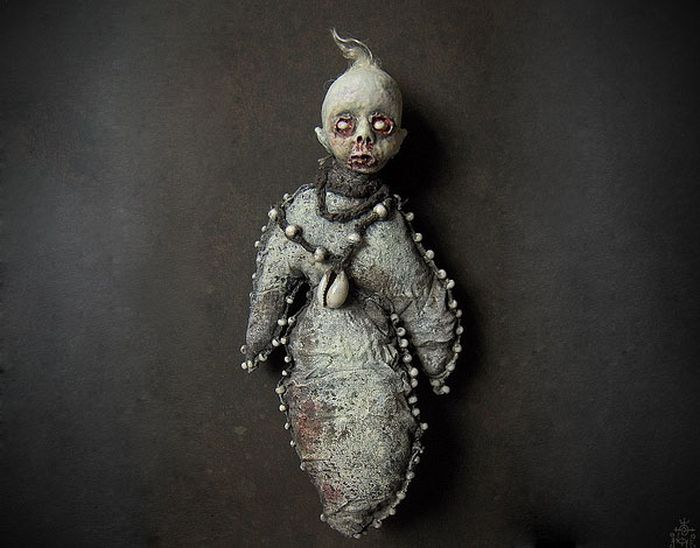 Creepy  Dolls by Shain Erin (20 pics)