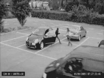 Carjacker Carjacked