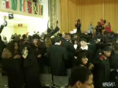 High School Graduation Fight