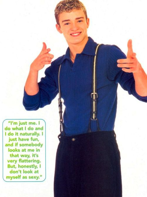 The Most Embarrassing Pictures Of Justin Timberlake (25 pics)