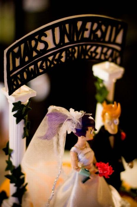 Awesome Futurama Wedding Cake (10 pics)