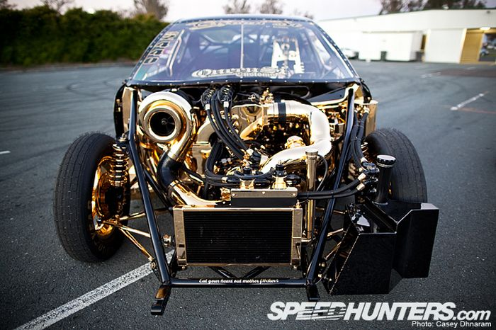 BMW M3 Powered by a Mazda Four Rotor Engine (17 pics)