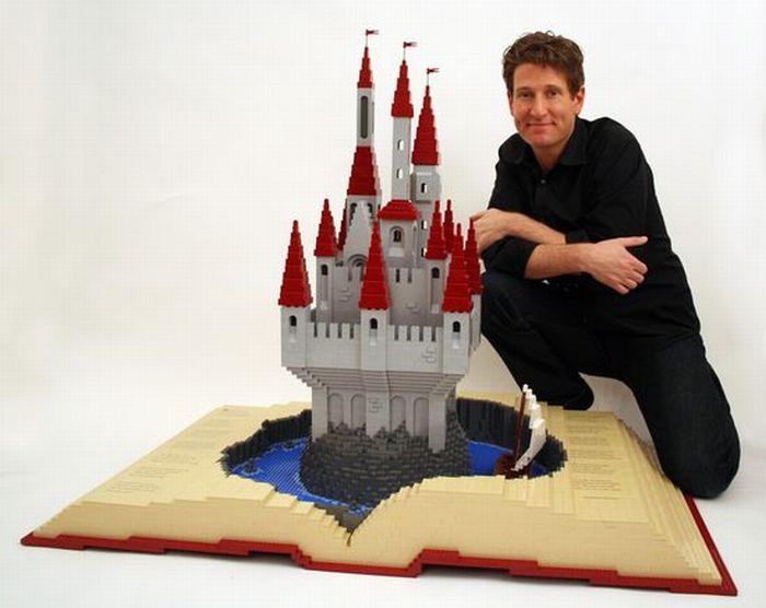 Amazing Lego Art (50 pics)