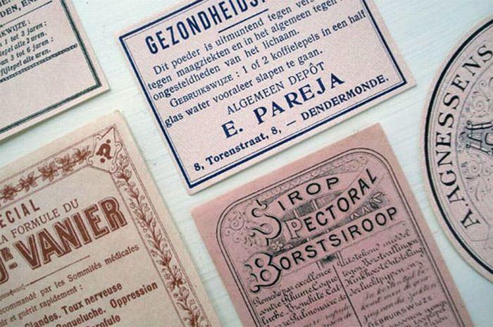 Vintage Packaging & Labels (25 pics)