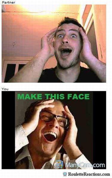 The Most Hilarious Chatroulette Reactions (40 pics)