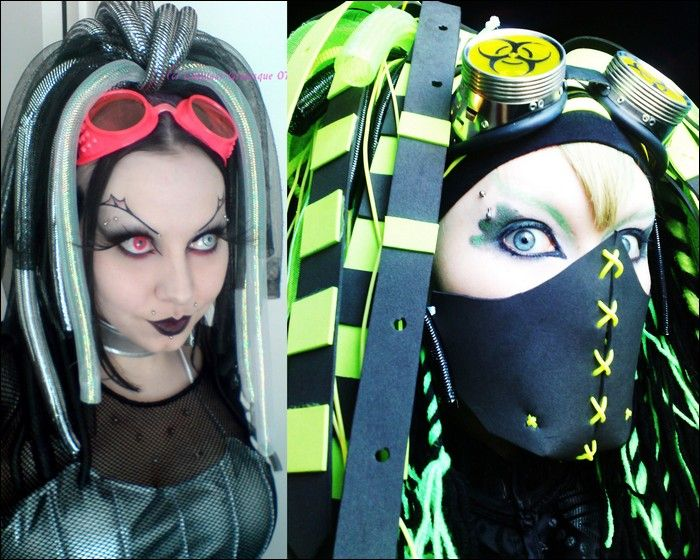 Ass Dildo Cyber Goth Girl Porn Pics