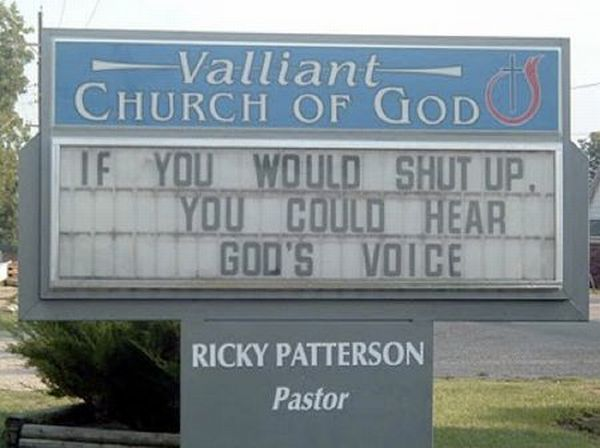Funny Church Signs (12 pics)