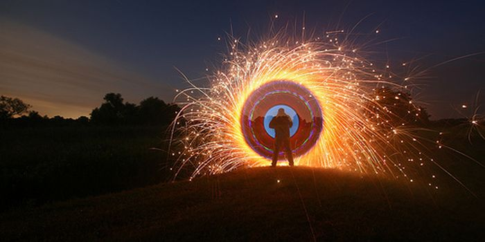 Beautiful Light Art Performance (55 pics)