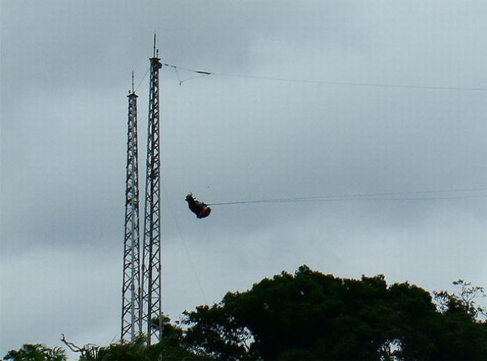 Thrilling-to-Death Rides on SkyCoaster (19 pics)