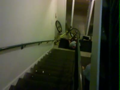 Bicycle vs Stairs