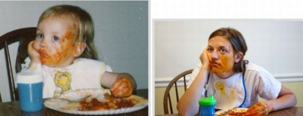 Young Me vs Now Me. Part 2 (30 pics)