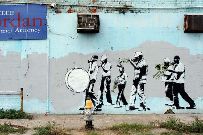 Banksy Graffiti Drawings (106 pics)