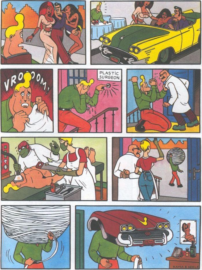 Cowboy Henk Comics (50 pics)