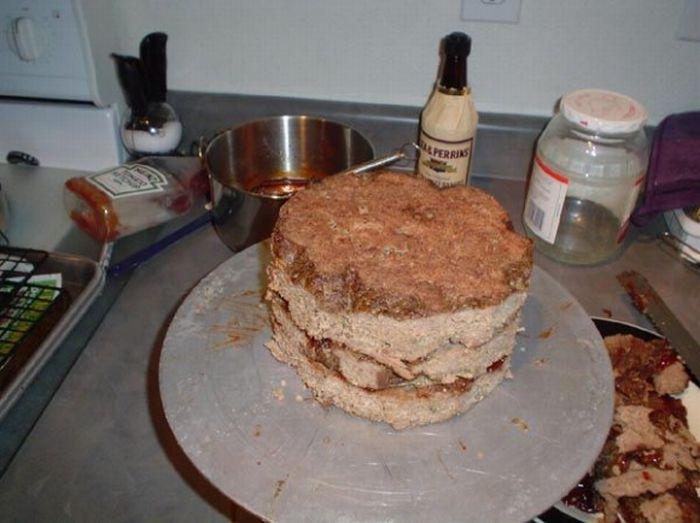 Meat Cake (14 pics)