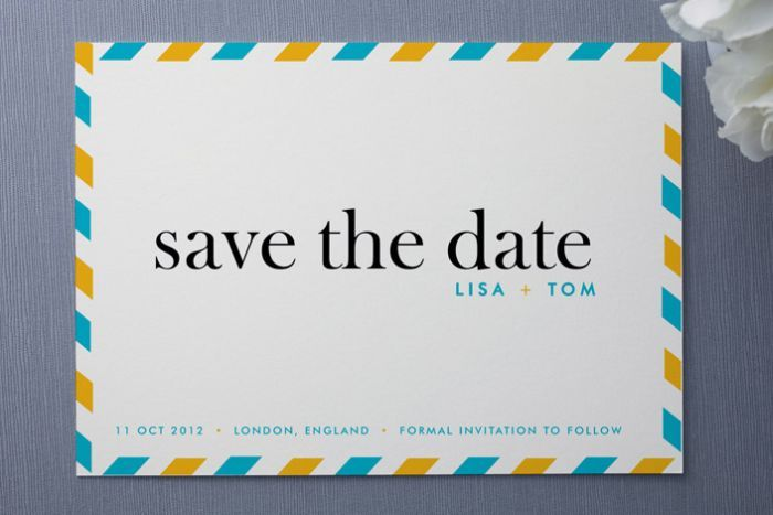 Cute Save-the-Date Cards (14 Pics