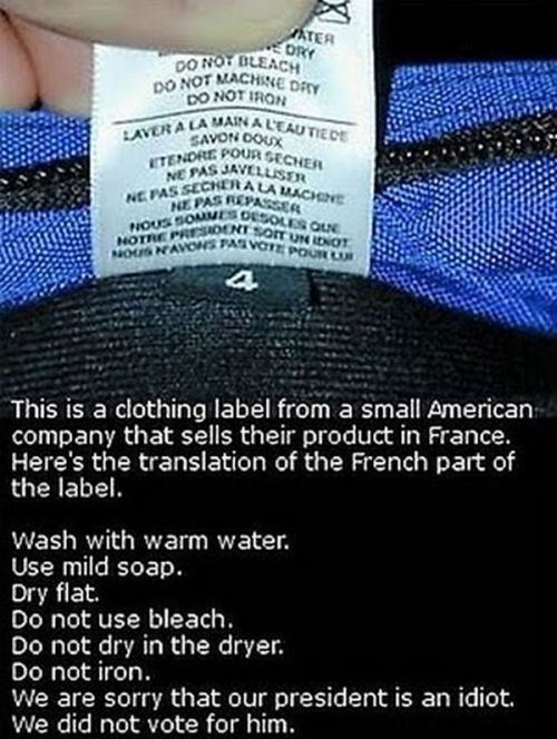 The Dumbest Product Warning Labels Of All Time (25 pics)