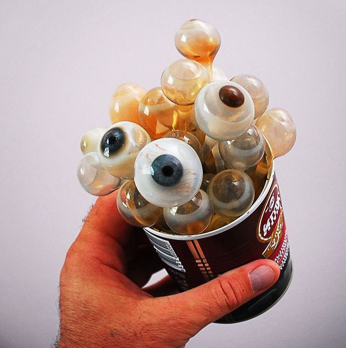 Production of Ocular Prostheses (11 pics)