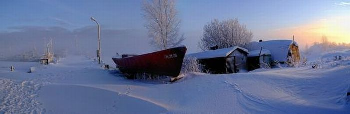 Ships at Winter (15 pics)