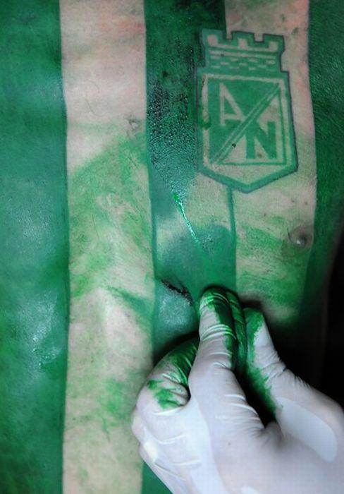 Soccer Jersey Tattoo (9 pics)