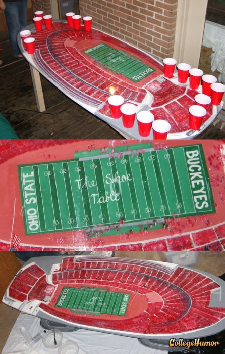 Awesome Beer Pong Tables (101 pics)