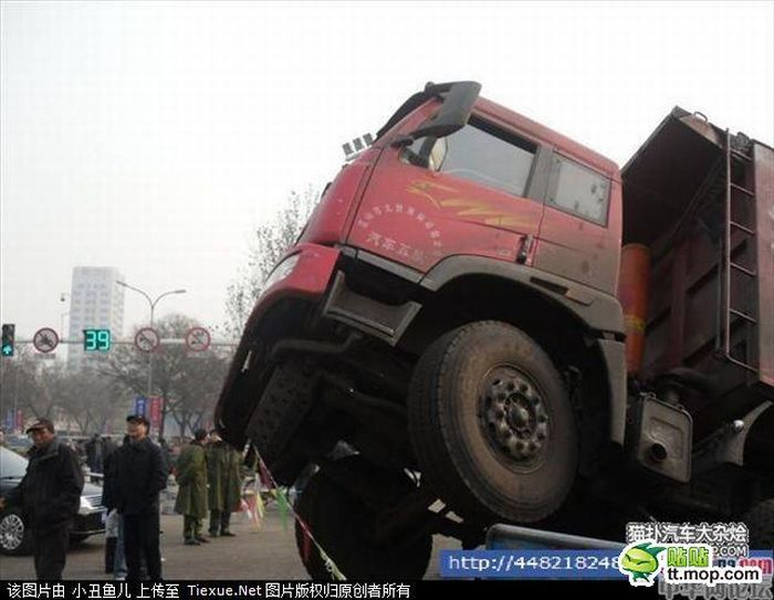 Road Collapse in China (7 pics)
