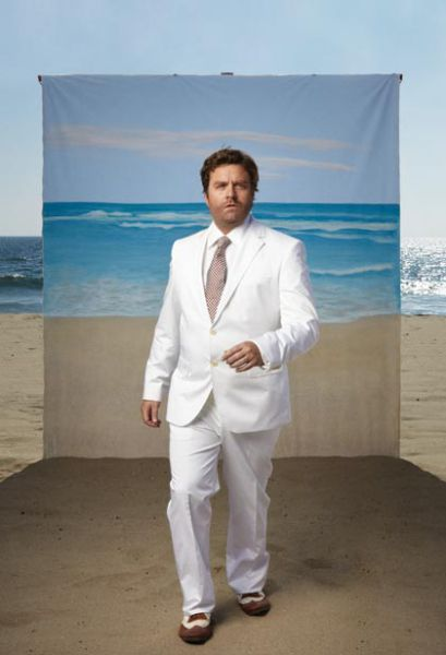 Swimsuit Calendar with Zach Galifianakis (6 pics)