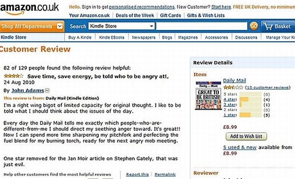 Funny Amazon User Reviews (25 pics)