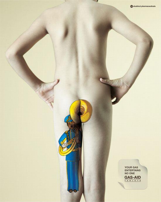Gas Aid Ad Campaign (5 pics)