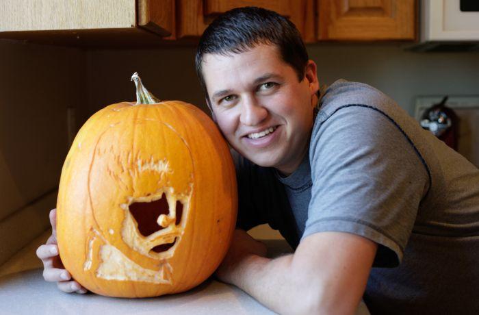 Justin Bieber Pumpkin (5 pics)