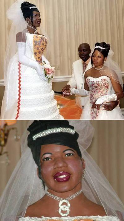 The Weirdest Wedding Cakes (12 pics)