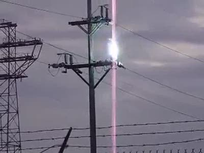 Electric Power Line Explosion