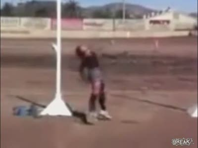 Hammer Throw Fail
