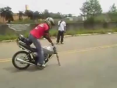 One Wheel Wheelie