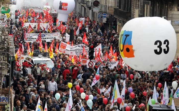 Strikes in France Continue (30 pics)