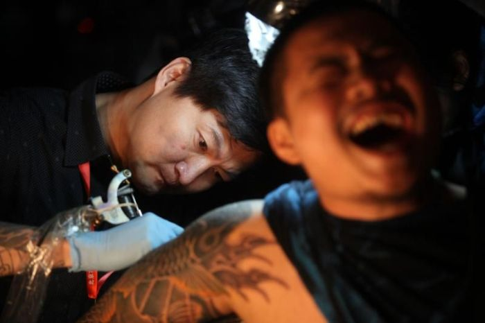 International Tattoo Festival in Beijing (21 pics)