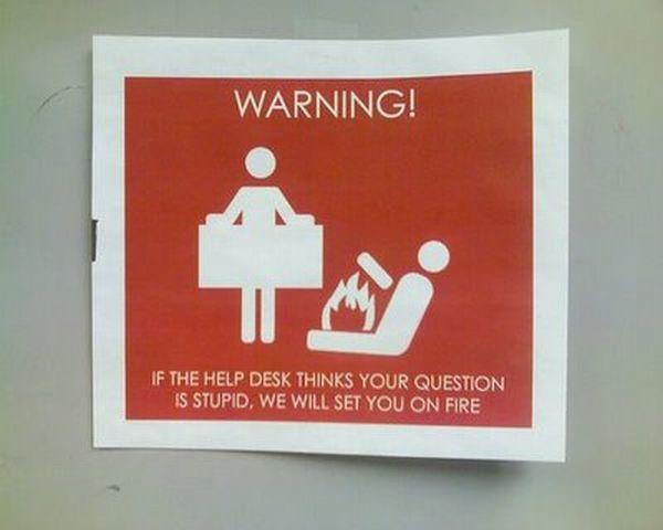 Strange and Funny Warning Signs (32 pics)