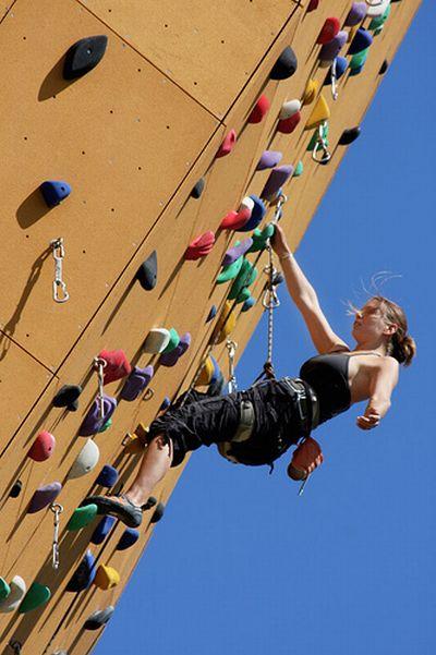 World's Highest Climbing Wall (11 pics)