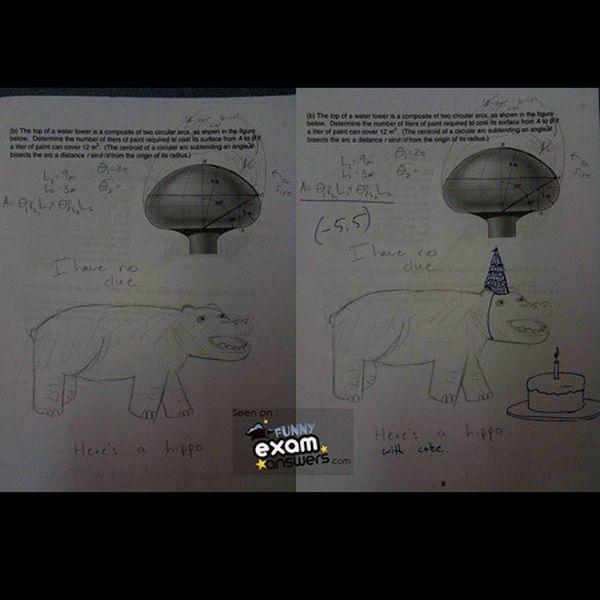 Funny Exam Answers (42 pics)