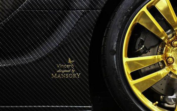 Bugatti Veyron in Gold (17 pics)