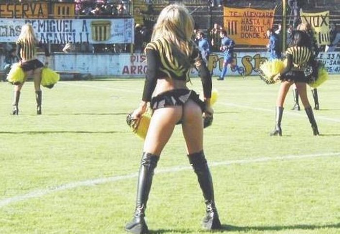 Porristas. Cheerleaders from South and Latin America (30 pics)